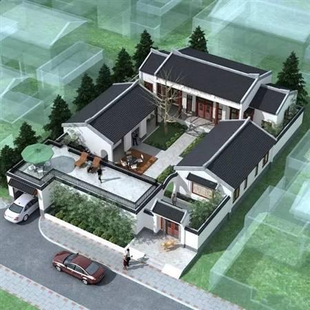 自建别墅-中式风格08