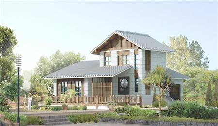 装配式自建别墅-日式风格10