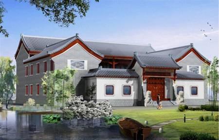 自建别墅-中式风格09