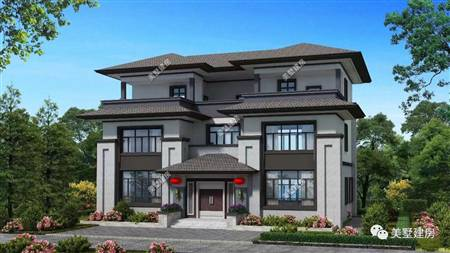 自建别墅-中式风格11